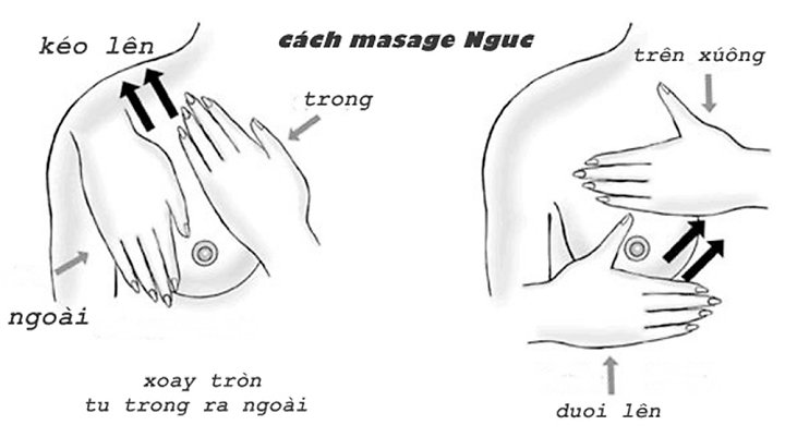Massage ngực